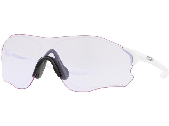 Oakley EVZero Path - Lunettes cyclisme - blanc/transparent